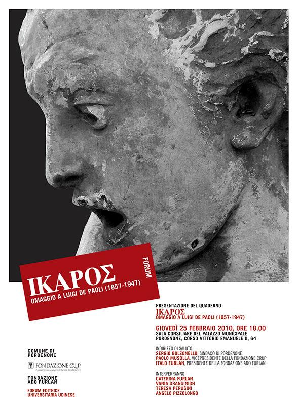 Presentazione del quaderno ΙΚΑΡΟΣ. Omaggio a Luigi De Paoli (1857-1947)
