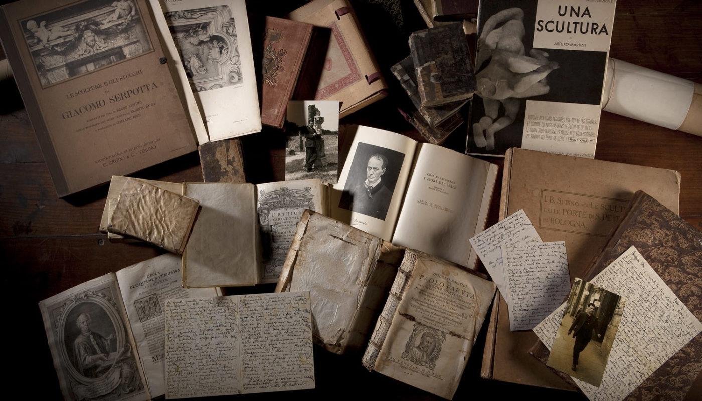 """Inaugurazionedella mostra """"…libri, libri e libri per noi tutti…"""". Dalla biblioteca personale di Ado Furlan"""